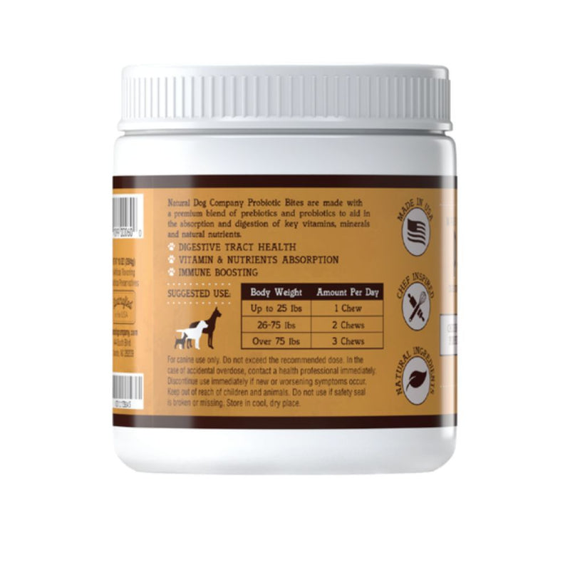 Natural Dog Company Probiotics Chews