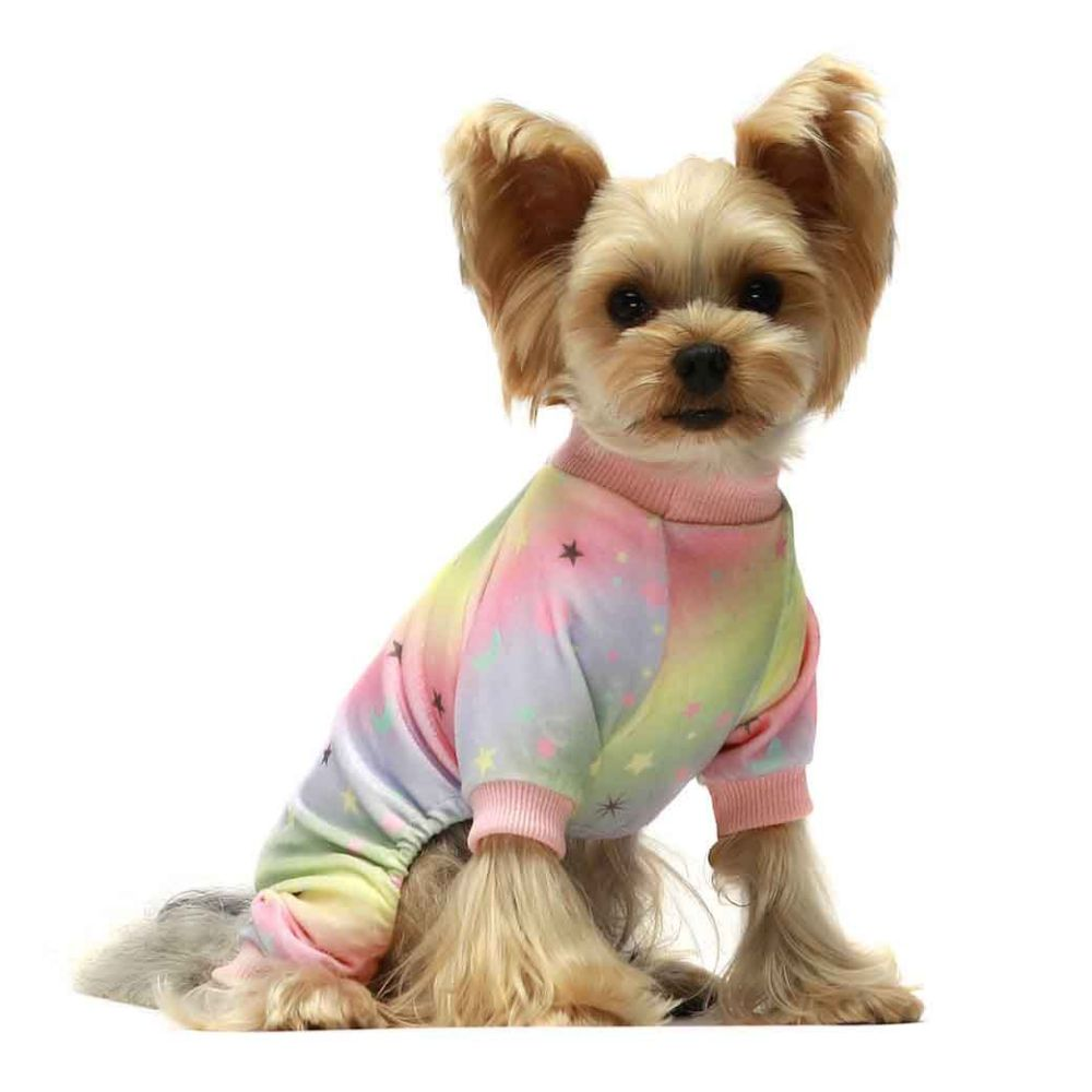 Fitwarm Rainbow & Stars Pajamas