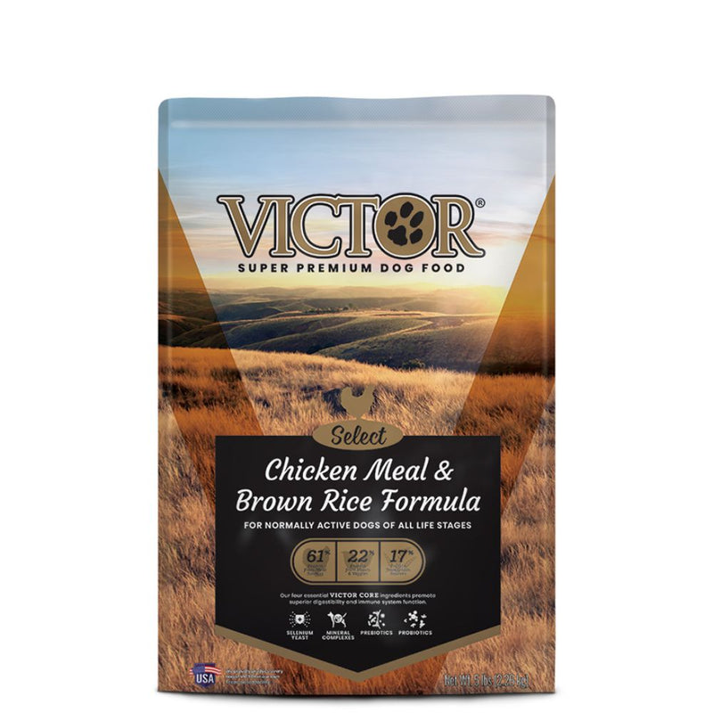 Victor Chicken Meal & Brown Rice Formula- 40Lb