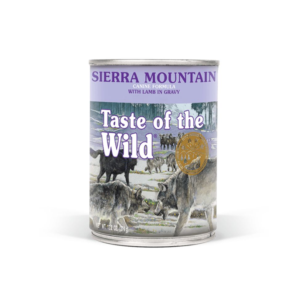 Taste Of The Wild Sierra Mountain Canine Formula with Lamb in Gravy