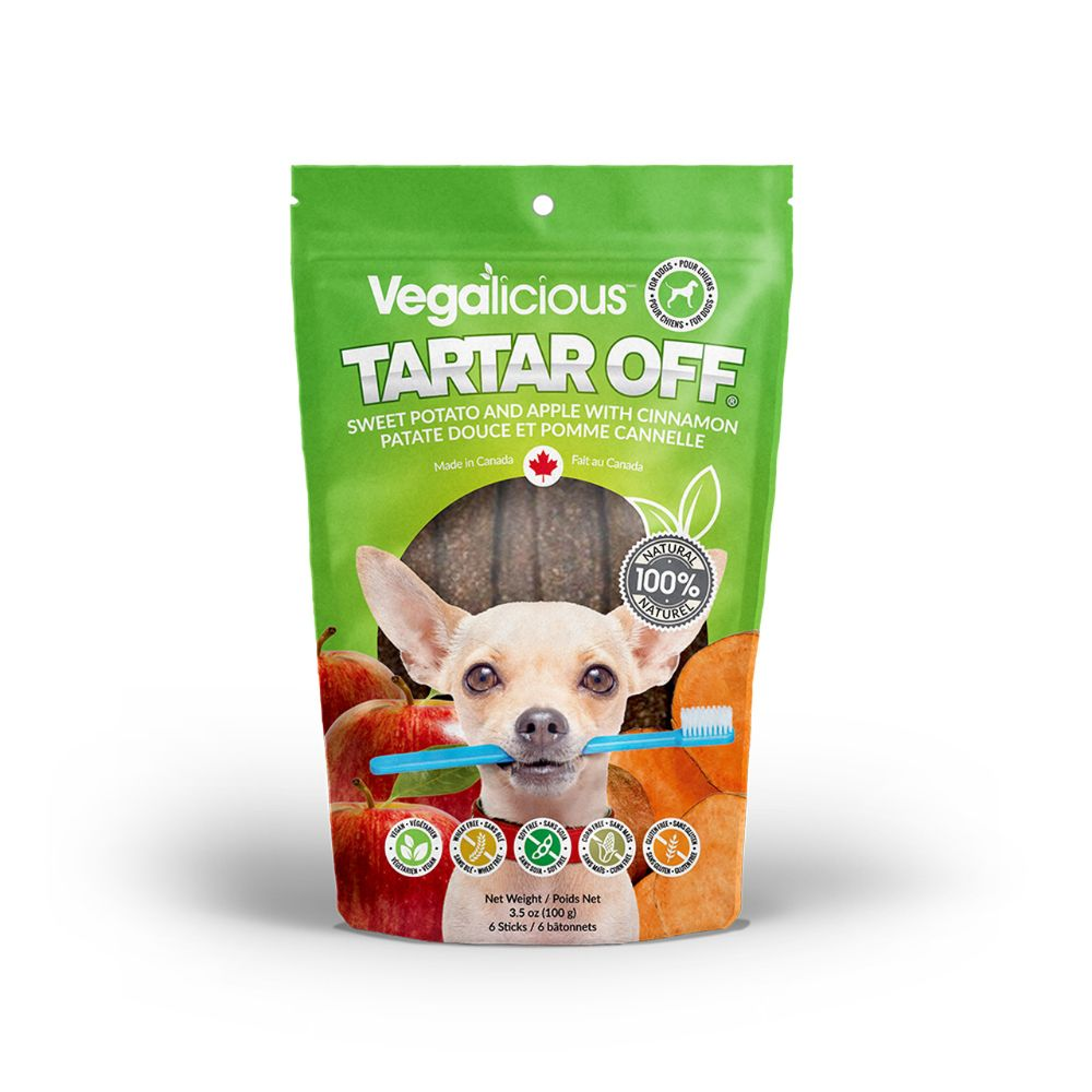 Vegalicious Tartar Off ® - Sweet Potato with Apple and Cinnamon