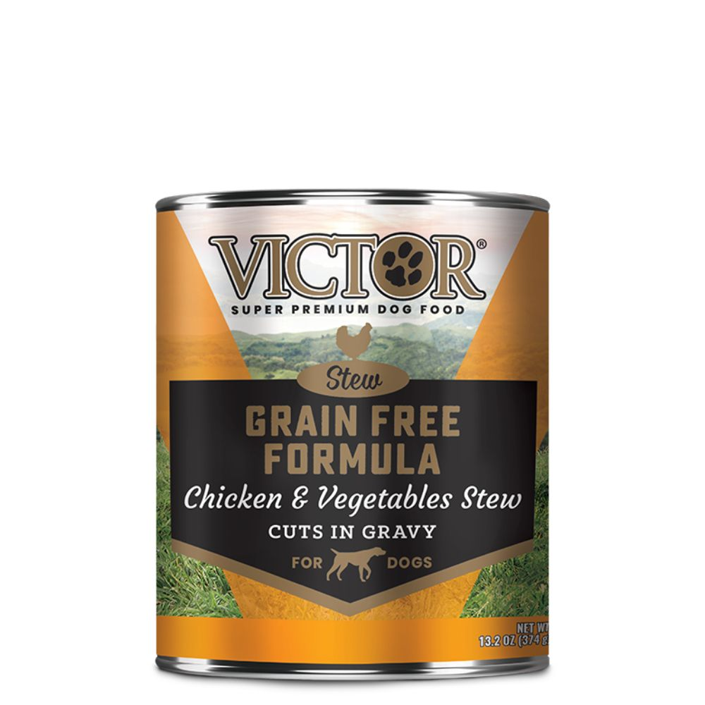 Victor Grain Free Formula Chicken and Vegetables Cuts in Gravy