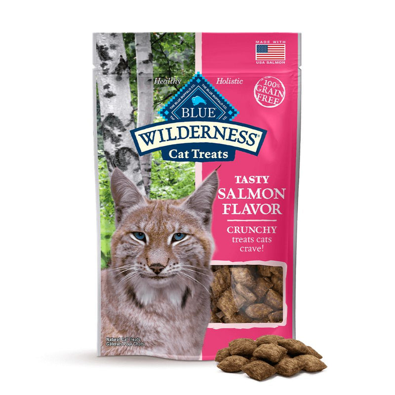 BLUE Wilderness™ CRUNCHY CAT TREATS  Salmon Flavor