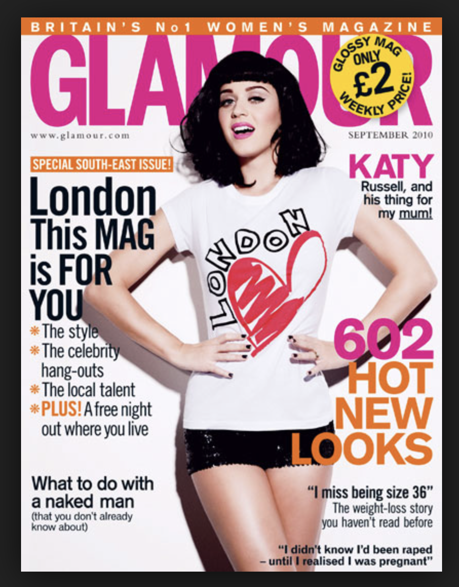 Glamour Magazine September 2010