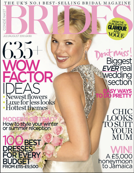 Bridesmagazine.co.uk, July 2010