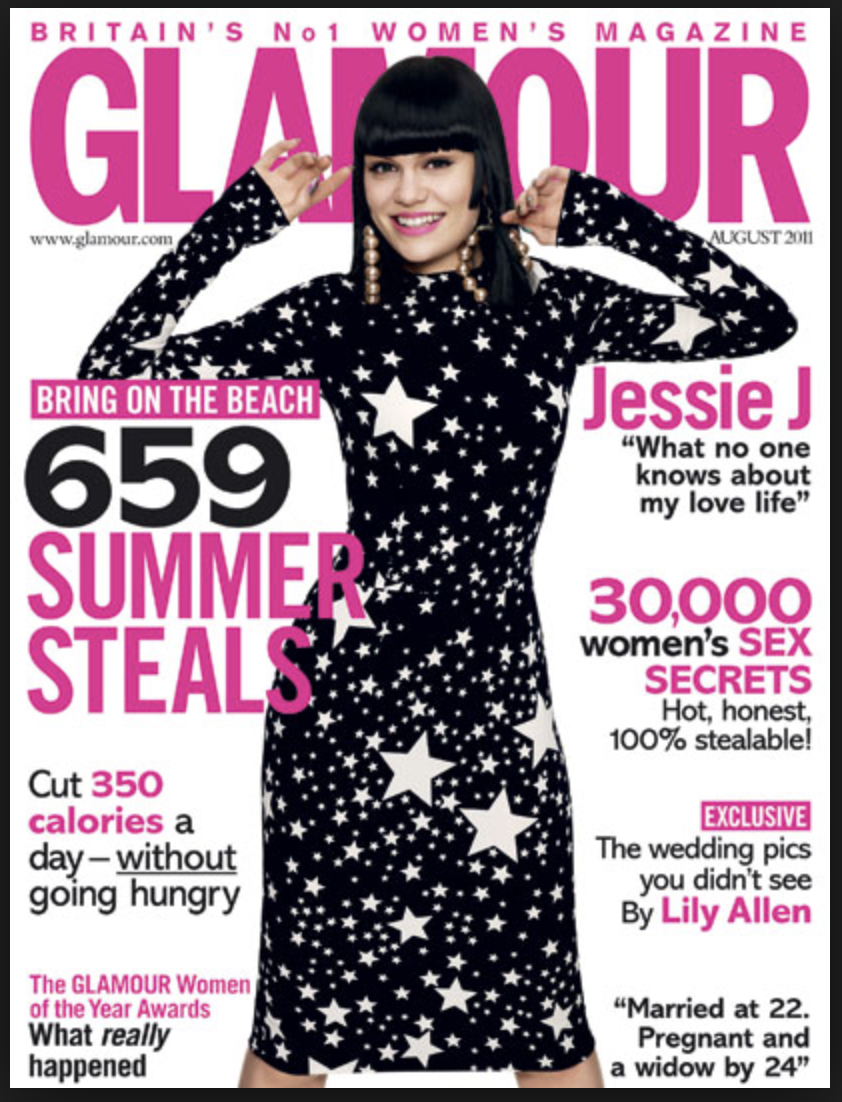 Glamour, August 2011