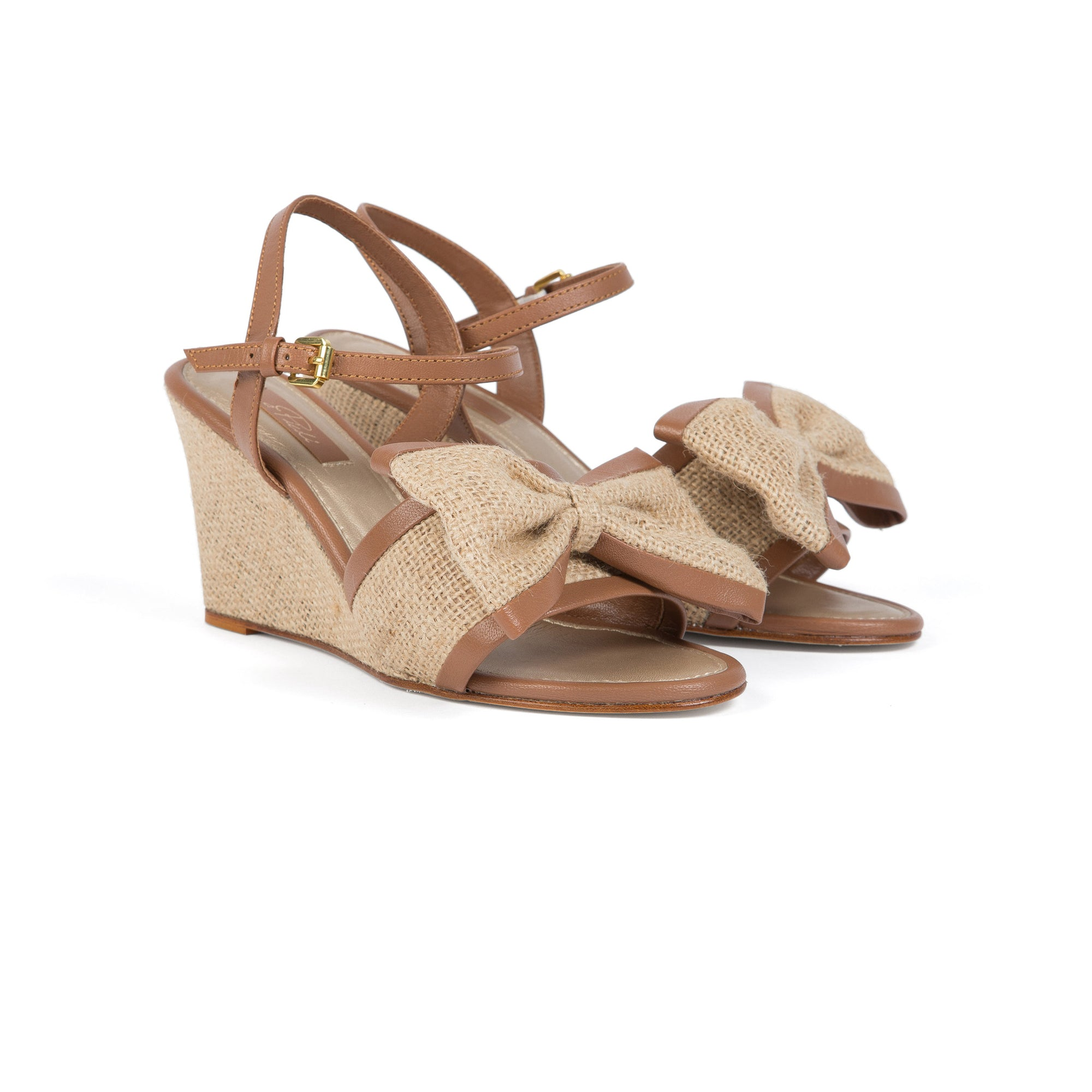 LILY WEDGE (Natural/Tan)