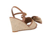 LILY WEDGE | Hessian