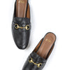 BACKLESS LOAFERS | Black