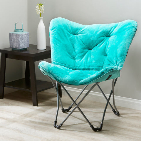 Mainstays Folding Butterfly Chair, Mint