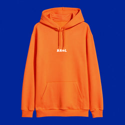 Sweat | Sweat Brol oversize orange Angèle