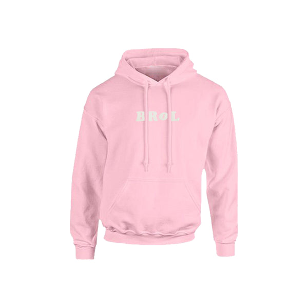 Sweat | Sweat Brol Rose Pâle en coton recyclé