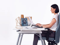 Ergonomic office chairs and standing desks