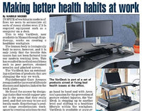 MAKING BETTER HEALTH HABITS AT WORK – DAILY SUN