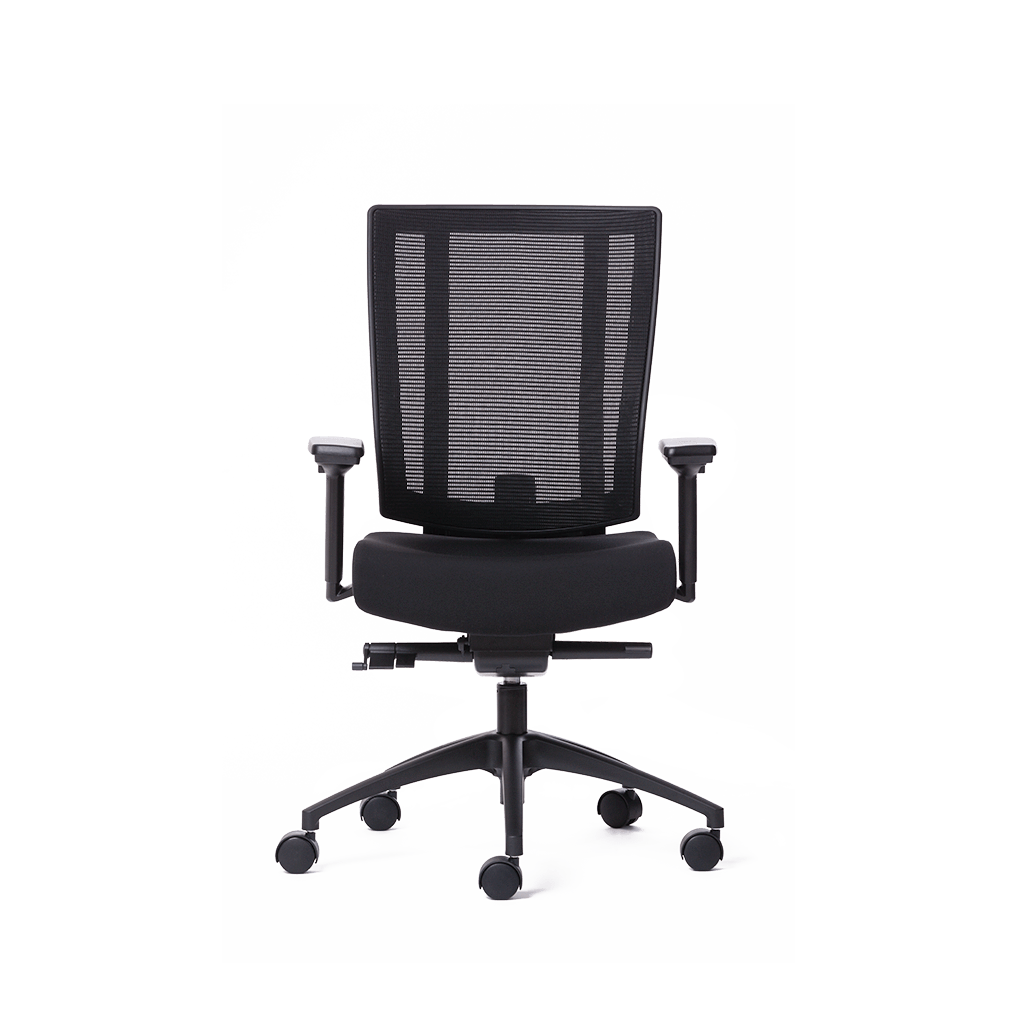 NETONE® MID BACK ERGONOMIC OFFICE CHAIR.