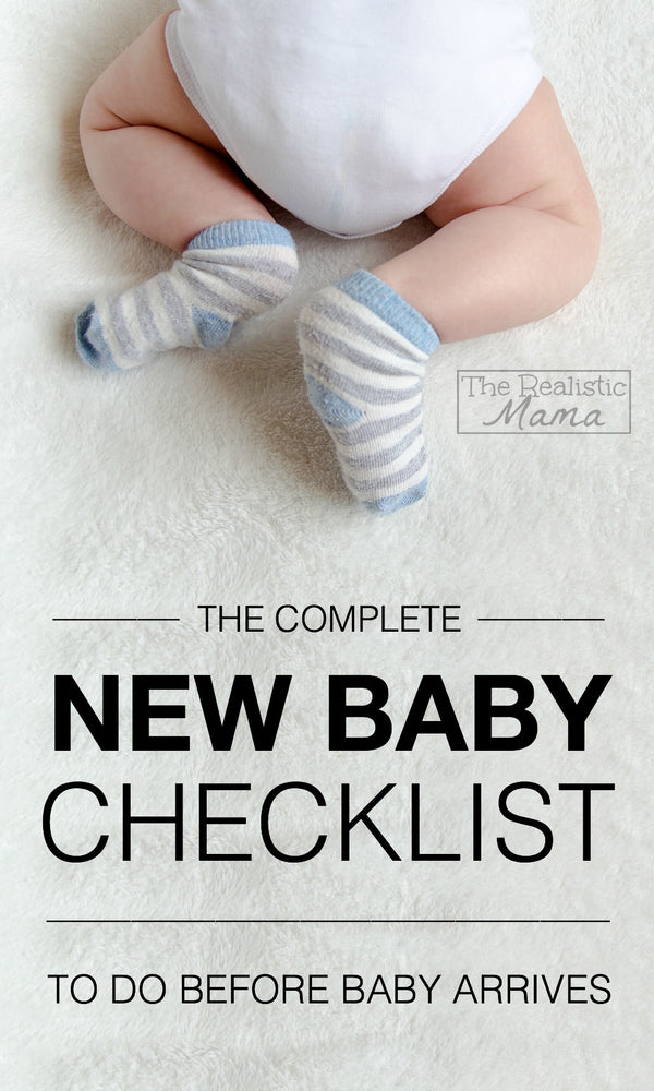 What to Get When You're Expecting – New Baby Checklist