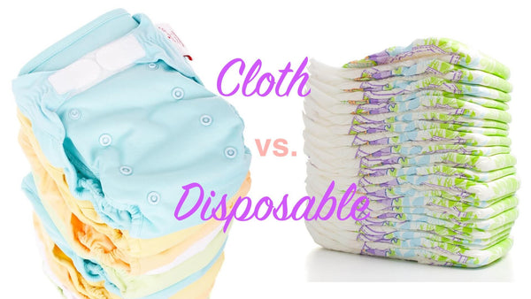 Cloth diaper vs. Disposable