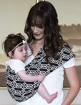 Solitaire Baby Sling - myhappybump
