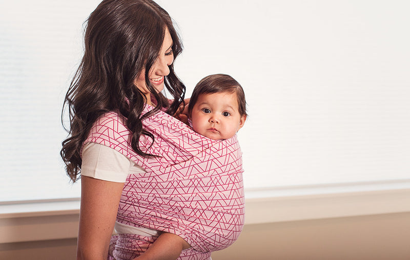 Lip Stick Baby Wrap - myhappybump