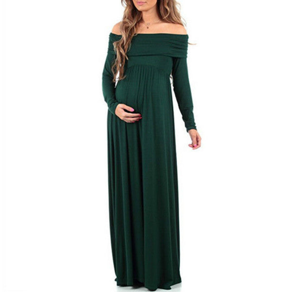 Linda Cowl Neck Gown - myhappybump