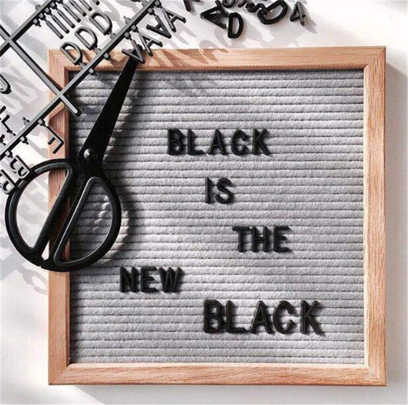 Letter Board Decor - myhappybump