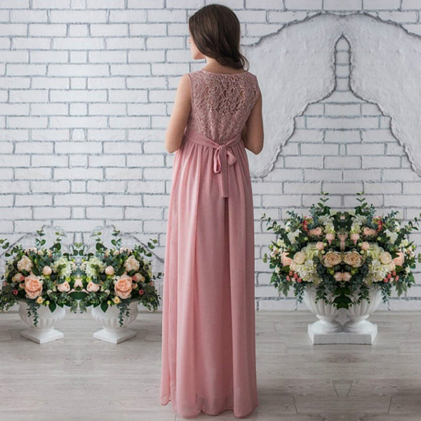 Melary Lace Gown - myhappybump