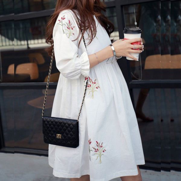 OLI Floral Dress - myhappybump