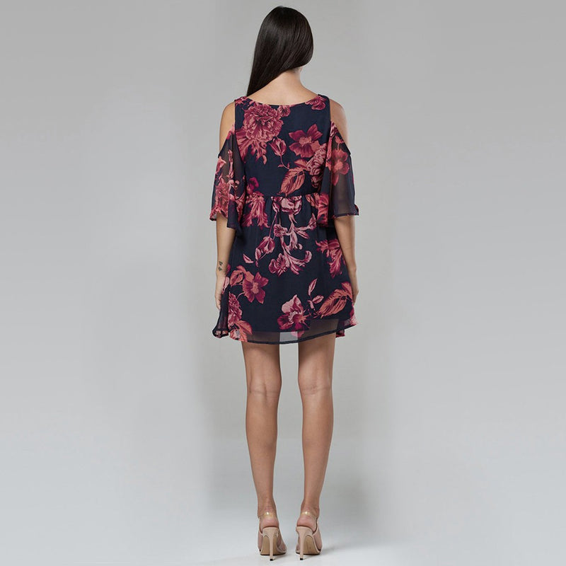 Ella Maternity Floral Sundress - myhappybump