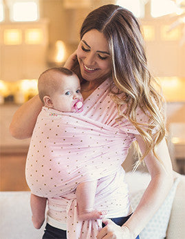 Whisper Baby Wrap - myhappybump