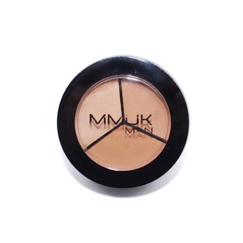 MMUK MAN Concealer Trio Wheel