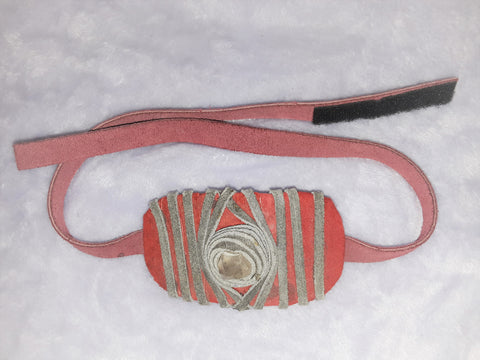 Red and Gray Crystal Headband
