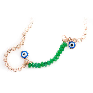 Greek Eye Necklace