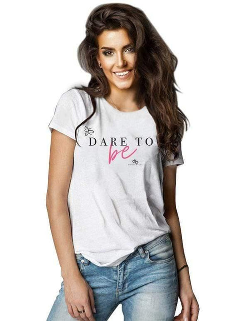 Dare To Be Ladies Short Sleeve Top