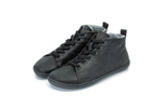 Load image into Gallery viewer, Mukishoes Raw Leather Black