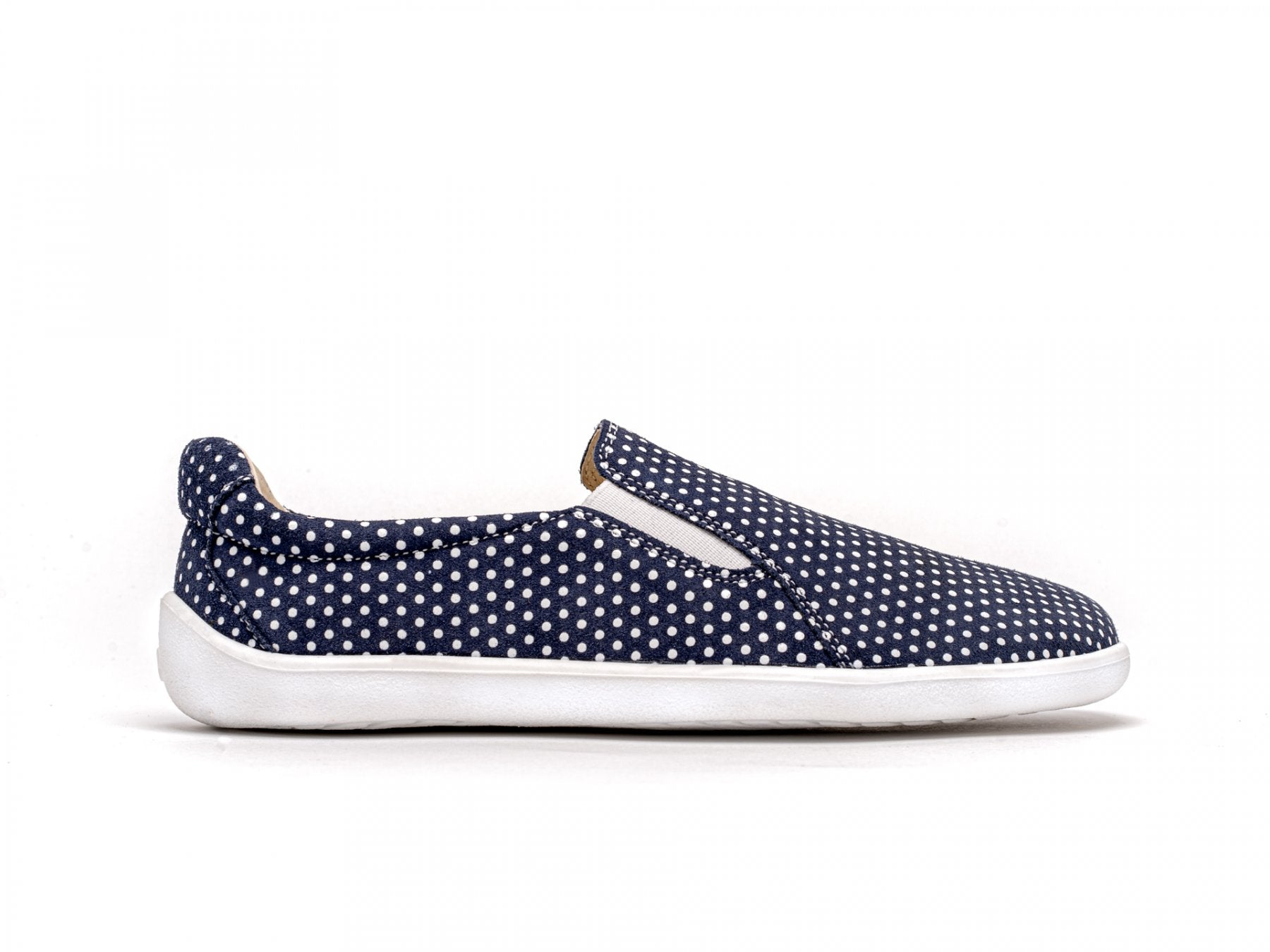 Dark Blue-White Dots