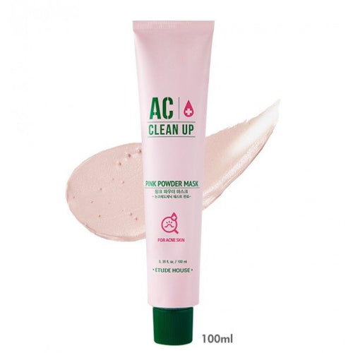 [ETUDE HOUSE] AC Clean Up Pink Powder Mask - kmade cosméticos coreanos
