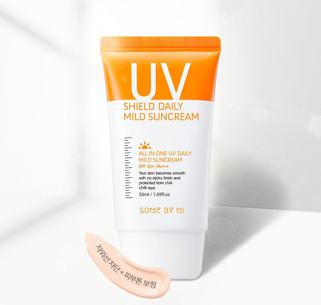 [SOME BY MI] - UV Shield Daily Mild Suncream SPF50+ PA+++ - 50ml - kmade cosméticos coreanos