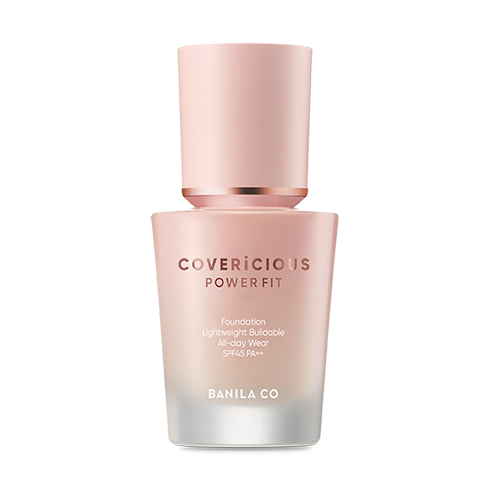 [BANILA CO] Covericious Power Fit Foundation - 30ml - kmade cosméticos coreanos