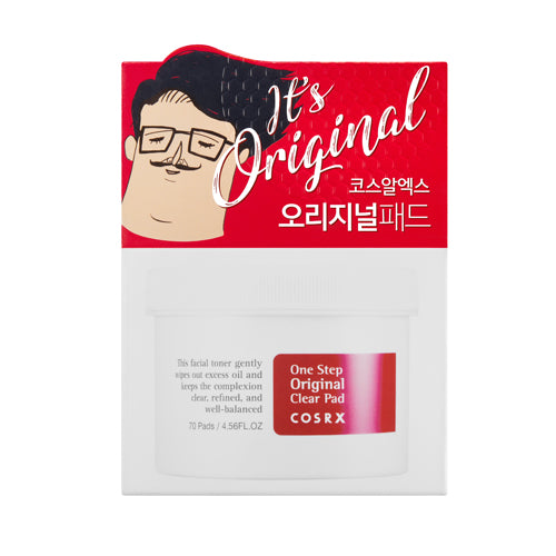 [COSRX] One Step Pimple Clear Pad 70pcs - kmade cosméticos coreanos