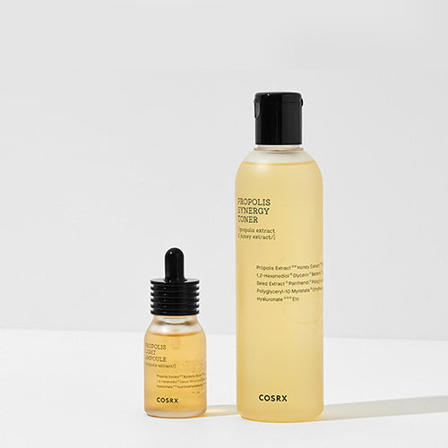 [COSRX] Propolis Light Ampule (30ml) + Propolis Synergy Toner (280ml) - 30%OFF - kmade cosméticos coreanos