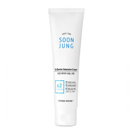[SoonJung] 2x Barrier Intensive Cream - 60ml - kmade cosméticos coreanos