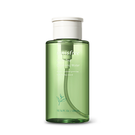 [INNISFREE] Green Tea Cleansing Water - 300ml - kmade cosméticos coreanos