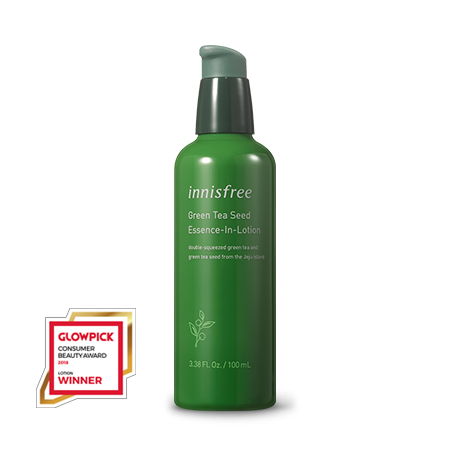 [INNISFREE] Green Tea Seed Essence-In-Lotion - 100ml - kmade cosméticos coreanos