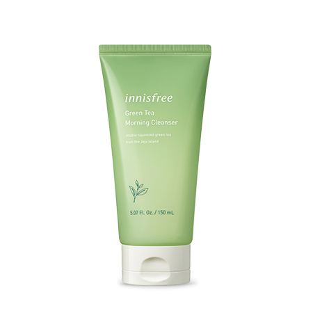 [INNISFREE] GREEN TEA MORNING CLEANSER - 150ml - kmade cosméticos coreanos