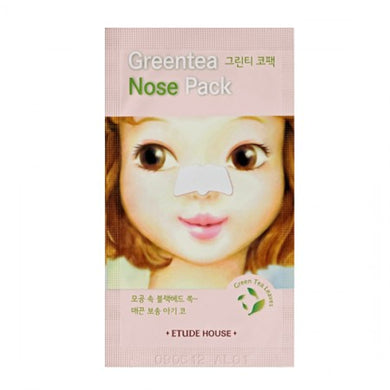 [ETUDE HOUSE] Green Tea Nose Pack - kmade cosméticos coreanos