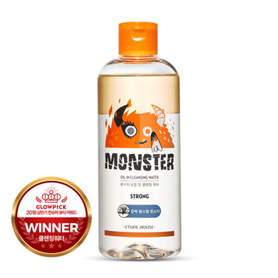 [Etude House] Monster Oil in Cleansing Water - 300 e 480ml - kmade cosméticos coreanos