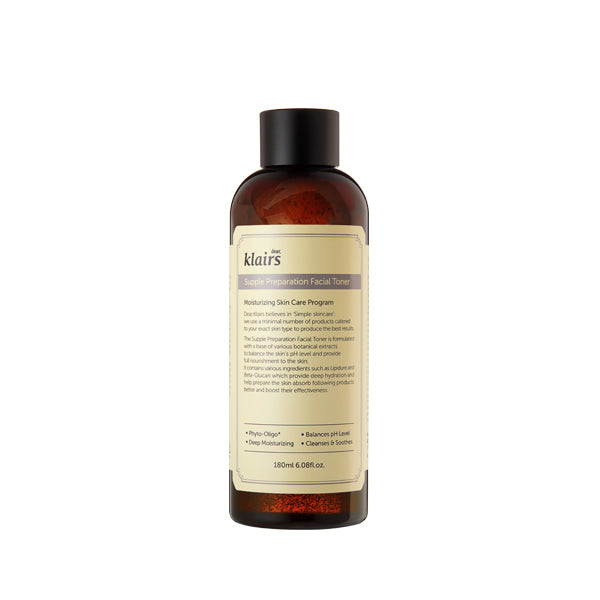 [KLAIRS] - Supple Preparation Facial Toner - 180ml - kmade cosméticos coreanos
