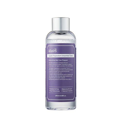 [KLAIRS] - Supple Preparation Unscented Toner - 180ml