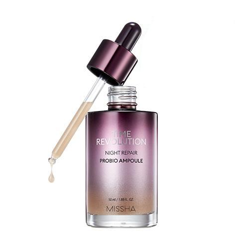 [MISSHA] Time Revolution Night Repair Probio Ampoule - 50ml (30%OFF) - kmade cosméticos coreanos