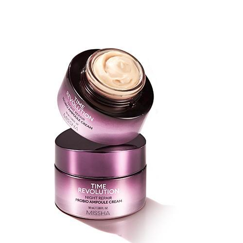 [MISSHA] Time Revolution Night Repair Probio Ampoule Cream - 50ml (30%OFF) - kmade cosméticos coreanos